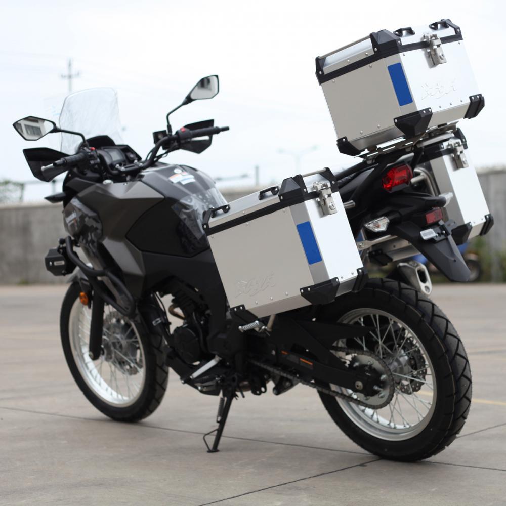 Motorcycle Aluminum Pannier Motorcycle Side Case Tripfella
