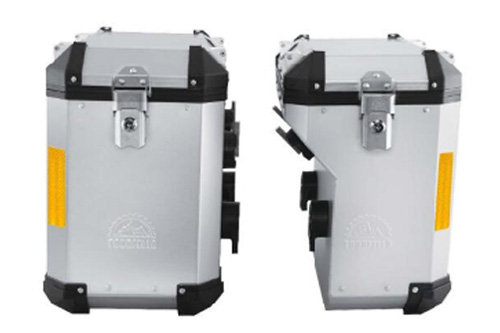 Cosmo-Remus Motorcycle Pannier System(side cases)  (45° cutout design)