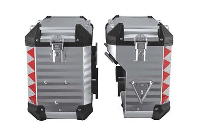 Max-Remus Motorcycle Pannier System(side cases)(45° cutout design)